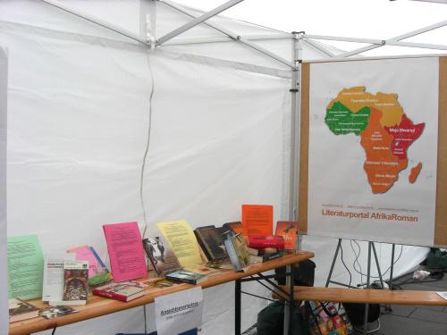 Literaturstand Afrikanische Literatur