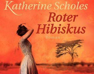 Katherine Scholes: Roter Hibiskus