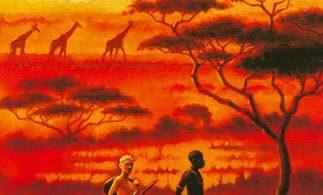 Die Spur des Löwen: Eine Freundschaft in Afrika